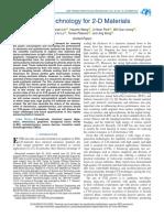CVD Technology for 2-D Materials