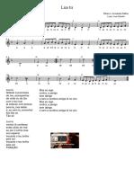 Lua Tu - Letra e Partitura Educacao Musical Jose Galvao CL