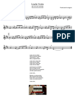 Linda Noite - Letra e Partitura Educacao Musical Jose Galvao SL
