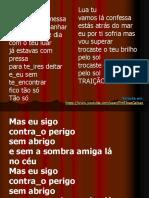 Lua Tu - Letra Notas e Harmonia Educacao Musical Jose Galvao