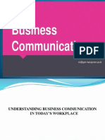 Ppt Business Communication (Teaching in English)