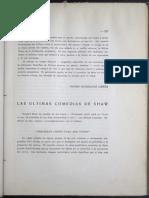 Jorge Luis Borges - Las Ultimas Comedias de Shaw (1936)