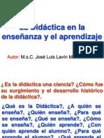 La Didactica en El Ens. y El Aprend.1