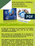 Educación a Distancia y Virtual