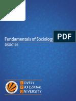 Dsoc101 Fundamentals of Sociology English (1)