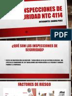 Inspecciones de Seguridad NTC 4114