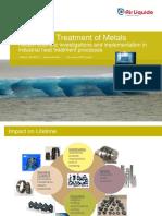 Presentation Cryogenic Treatment of Metals SHTE 2017
