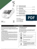 Sanitas SBM 42 Blood Pressure Monitor