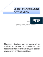 Techniques of Vibration Measurement