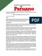 Aranceles Judiciales 2019