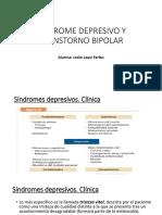 Sindrome Depresivo y Transtorno Bipolar