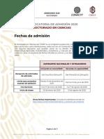 Admision 2020 Doctorado 2