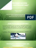 """Presentación """"El Outsourcing"""""""