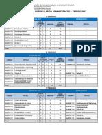 Grade 2017 Com Pré-requisitos - Atualizada Em Jan.19