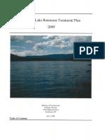 Gardom Lake Rotenone Treatment Plan