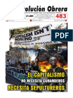 PERIÓDICO REVOLUCIÓN OBRERA No. 483 Octubre - Novimebre 2019