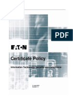 Eaton Certificate Policy