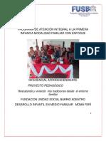 Proyecto Pedagogico Bellas Personitas