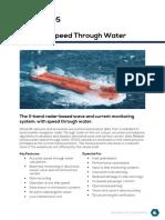 wawex speed through water system