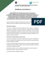 Informe de Actividad Verificacion Por Muestreo (1)