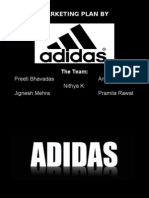 Marketing Strategies by Adidas