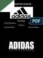 Marketing Strategies by Adidas