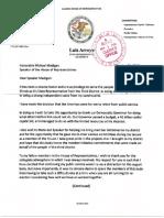 Arroyo Resignation