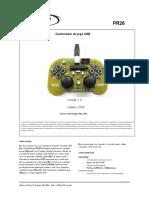 joystic Com PIC18F2550