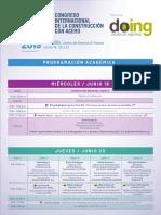 Agenda Congreso 2019