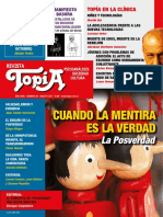 Revista Topia 80 Agosto 2017 Posverdad