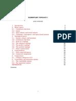 Elementary Topology - Full (1)