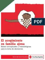Cruz Roja Acogimiento en Familia Ajena