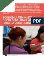 Economía Feminista y Decolonialidad