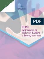 Indicadores de Violencia Familiar 2019