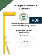 Contabilidad Agropecuaria