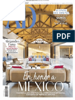 Architectural Digest Mexico - 01 2019