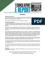 19nov10 Update Report 17 November 2010 Myanmar