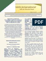 Boletin Jurisprudencial 2019-10-31