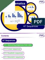 a7 Sequences