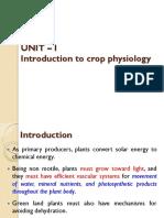 Crop Physiology_Unit 1