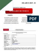 Semianrio de Tesis II-2019 - II