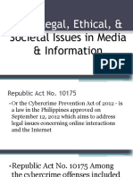 Title Legal, Ethical, & Societal Issues