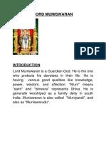 Lord Muniswaran