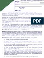 P.D. No. 115 Trust Receipts Law