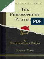 The Philosophy of Plotinos