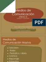 Lengua y Literatura Ppt Medios de Comunicacion