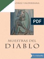 Pedro Gomez Valderrama - Muestras Del Diablo