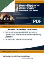 Dynamics (Coursera)