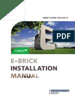 Installation Manual E-brick en Lores