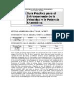 EP1 - Guía Práctica Para El Entrenamiento de La Velocidad y